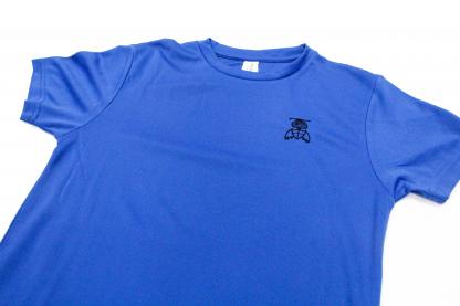 Blue Top Close Up - William Alvey PE T-Shirt