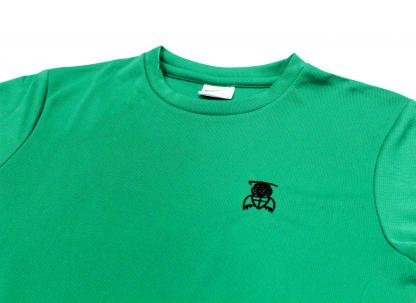 Green Top Close Up - William Alvey PE T-Shirt
