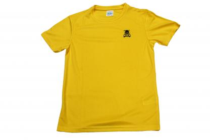 Yellow Top Full - William Alvey PE T-Shirt