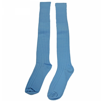 St George's Academy - Plain Sky Blue Football Socks