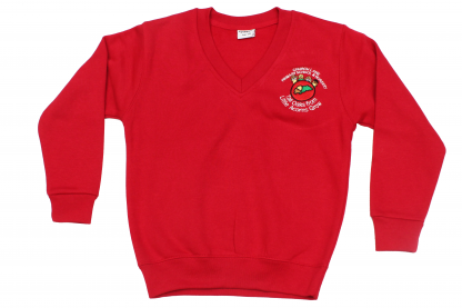 Church Lane - 'V' Neck Sweatshirt