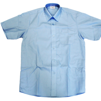 SGA - Short Sleeve blue Boys Shirt